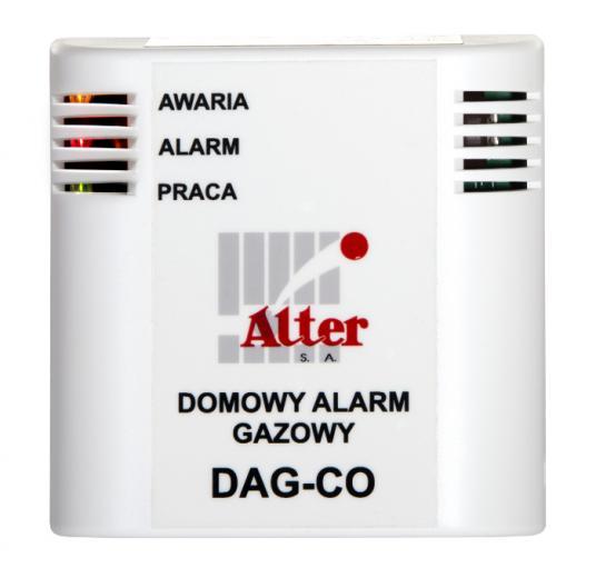 domowy alarm gazowy